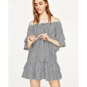 Zara Seersucker Dress